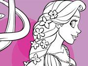 Rapunzel Long Hair Coloring